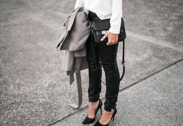 Black Shoes - Baltimore Fashion Blog